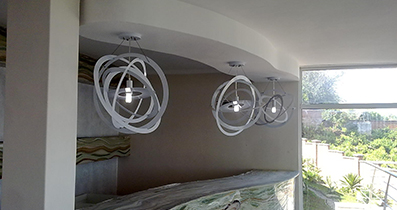 Plastered Ceiling Decor